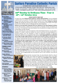 to download our latest newsletter - Surfers Paradise Catholic Parish
