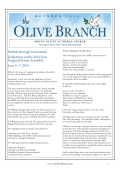 Read our Newsletter - Mount Olivet Lutheran Church