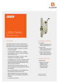 L909x Series Electrified Mortise - Security Technologies - Allegion