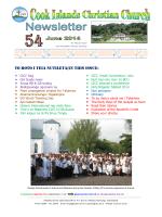 JUNE 2014 Just Released Download (5MB) - Cook Islands