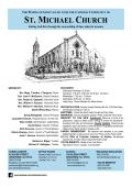 ST. MICHAEL CHURCH - E-churchbulletins.com