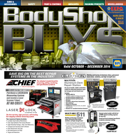 Body Shop Buys – 4th Quarter - STAR Group NAPA Auto Parts Stores