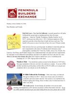 Ad 5 Peninsula Builders 2014 - Peninsula Builders Exchange