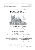 Notices - St Peters Anglican Church