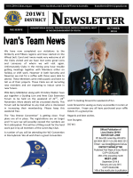 District Governor 201w1s October 2014 Newsletter - Lions District W1