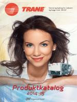 TRANE No katalog 2014 PrintWeb - Pingvin klima AS