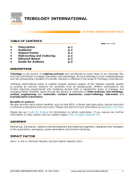 Author information pack - Elsevier