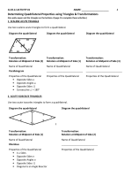 G.CO.11 Worksheet 1 - TeacherWeb
