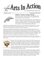 September/October 2014 Issue - Sturgis Area Arts Council