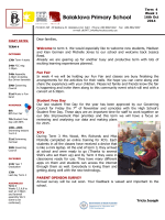 Latest Newsletter - Balaklava Primary School
