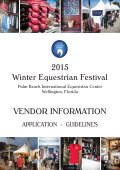 2015 Vendor Forms - Winter Equestrian Festival