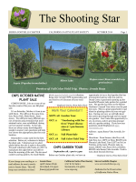 Sierra Foothills Chapter - California Native Plant Society