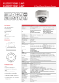 Datasheet of DS-2CD2132F-I(WS) - Hikvision
