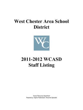 2011-2012 Staff Listing