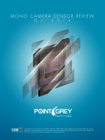 Q3 2014 Mono Sensor Review PDF Download - Point Grey