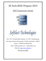 M.Tech IEEE 2014 Projects (Topic Wise) - Softlect