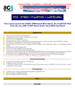 Training STM32 + FreeRTOS + LwIP/EmWin: This - Ac6-formation