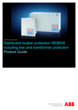 REB500/REB500sys Version 7.60 - ABB Download Center
