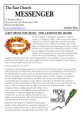 Newsletter - East Congregational Church