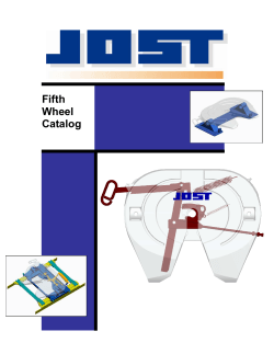 Jost Fifth Wheel Catalog - Pioneer Heavy Duty Parts