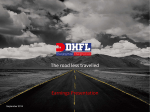 Corporate Presentation – for the Half Year FY 2014-15 - DHFL