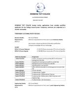 SEDIBENG TVET COLLEGE - Sedibeng College
