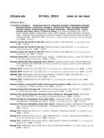Neue oder wie neue Platten, keine reprints [pdf] - 33rpm