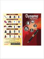 Dynamo Pen Camera Manual - Online Shopping at Anand India.