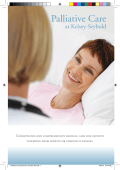 Palliative Care Brochure 5.5x8.5-AK.indd - Kelsey-Seybold Clinic