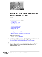 ReadMe for Cisco Unified Communications Manager Release 10.5(1)