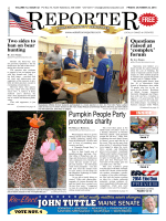 Pumpkin People Party promotes charity - Waterboro Reporter