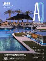 Advertise - AQ - The Official Magazine of APSP