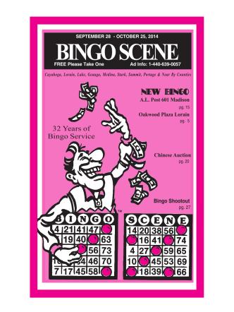 Cleveland/Akron/Canton - Bingo Scene Magazine