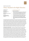 Global Perspectives Weekly. China: Headed in the - Wells Fargo