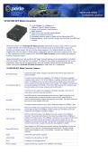 S-1110-SFP - 10/100/1000 SFP Media Converter - Perle
