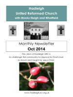 Oct 2014 - Hadleigh, Suffolk URC