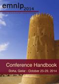 Conference Handbook - emnlp 2014