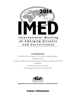 Final Program and Abstracts - IMED | International Meeting on