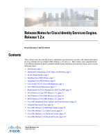 Release Notes for Cisco Identity Services Engine, Release 1.2.x