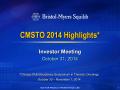 Presentation (PDF) - Investors - Bristol-Myers Squibb