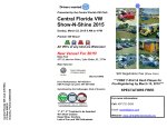 Orlando VW Show-N-Shine 2015 Flyer - Central Florida Volkswagen