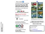 Orlando VW Show-N-Shine 2015 Flyer - Central Florida Volkswagen