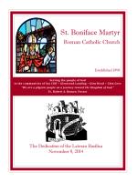 St. Boniface Martyr - E-churchbulletins.com