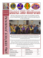5M9 SERVICE JOURNAL - District 5M9