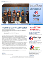 November 2014 - Florida Region of USA Volleyball
