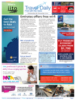 Emirates offers free wi-fi - Travel Daily