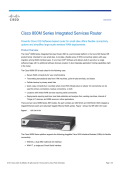 Cisco 800M Series Integrated Services Router Data Sheet