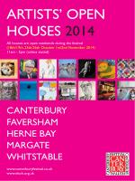 Download Brochure - Artists Open Houses