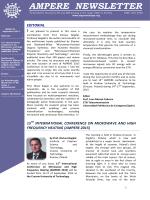 Newsletter n.82 now on line!!!. - ampere