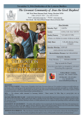 Current - Covenant Community of Jesus the Good Shepherd
